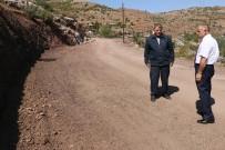 YEŞILKÖY - Yahyalı Yeşilköy Mahallesi Yolu Genişletiliyor