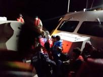TEKEV - Ayvalık'ta 33 Mülteci Yakalandı