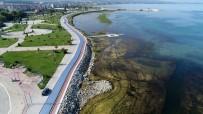 HÜKÜMET KONAĞI - Beyşehir'de Sahil Bandına Bisiklet Ve Yürüyüş Yolu