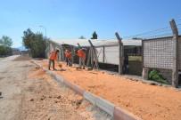SANAYİ SİTESİ - Bilecik Belediyesi'nden Asfalt Ve Kaldırım Çalışması