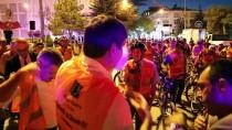 Burdur'da Belediye Başkanları Bisiklete Bindi