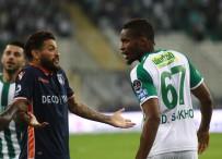 MAHMUT TEKDEMIR - Bursaspor, Medipol Başakşehir Maçı Golsüz Bitti