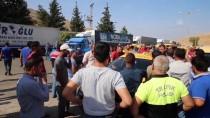 BAYRAM ZİYARETİ - Cilvegözü Sınır Kapısı Önünde Taksici Eylemi