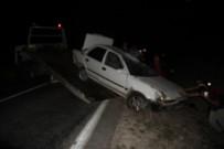 DİKKATSİZLİK - Emet'te Trafik Kazası Açıklaması 1 Yaralı
