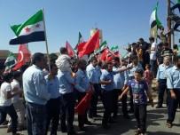 CUMHURBAŞKANı - İdlib'de Cumhurbaşkanı Erdoğan'a Sevgi Gösterisi