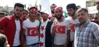 CUMHURBAŞKANı - İdlib Halkından Türkiye'ye Teşekkür Eylemi