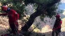 KELEBEKLER VADİSİ - Kayalıklarda Mahsur Kalan Kişi Kurtarıldı