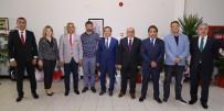 ERCIYES ÜNIVERSITESI - Kayseri Gazeteciler Cemiyeti'nden ERÜ Rektörü Çalış'a Ziyaret
