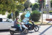 DEMİR ÇUBUK - Kilis'te Motosikletler Yük Taşımacılığında Kullanılıyor