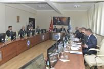 ERTUĞRUL ÇALIŞKAN - KMÜ'de Güvenlik Koordinasyon Toplantısı Yapıldı