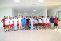 ATATÜRK KÜLTÜR MERKEZI - Manavgat Belediyespor Sezonun İlk Maçını, Kuşadasıspor'la Yapacak