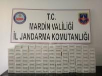 SIGARA - Mardin'de 101 Karton Kaçak Sigara Ele Geçirildi
