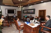 KANALİZASYON - Mavi Ay Derneğinden Başkan Asya'ya Teşekkür Ziyareti