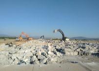 APRON - Milas Bodrum Havalimanı'nda Çalışmalar Devam Ediyor