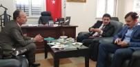 İŞİTME ENGELLİLER - Milli Eğitim Bakanlığı Talim Ve Terbiye Kurulu'ndan Erzurum'a Ziyaret