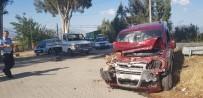 HATALI DÖNÜŞ - Nazilli'de Zincirleme Trafik Kazası Açıklaması 3 Yaralı