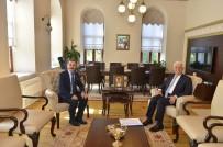 OSMAN GÜRÜN - Rektör Çiçek'ten Başkan Gürün'e Ziyaret