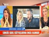 TÜRKÜCÜ - Songül Karlı canlı yayında gözyaşlarını tutamadı