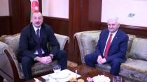 AZERBAYCAN CUMHURBAŞKANI - TBMM Başkanı Yıldırım, Aliyev İle Görüştü