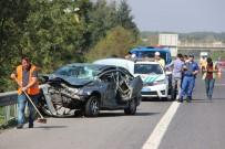 DOĞANLı - TEM Otoyolunda Feci Kaza 3 Yaralı