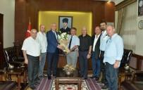 AHMET ÇELIK - Turizmciler Vali Yazıcı'yı Ziyaret Etti