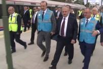 TEST SÜRÜŞÜ - Ulaştırma Bakanı Turhan Makinist Koltuğuna Geçti