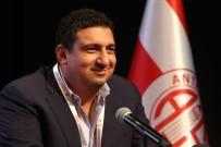 ASPENDOS - Ali Şafak Öztürk, Antalyaspor Derneği Başkanı Oldu