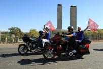 GAZILER - Ankara'da Harley'li Gazi Sürüşü