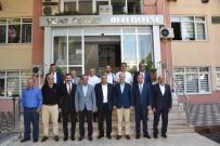 TOPLU KONUT - Başkan Çerçi, Yağlı Güreş Düzenleyen Kentler Birliğini Ağırladı