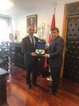 MUSTAFA KOCA - Başkan Mustafa Koca, Ulaştırma Ve Alt Yapı Bakan Yardımcısını Ziyaret Etti