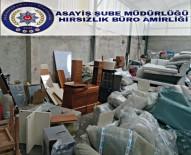 MOBİLYA - Çalınan Beyaz Eşyalar Oto Lastik Tamirhanesinde Ele Geçirildi