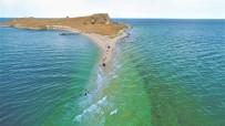 AKDAMAR ADASı - Çarpanak Adası'na Antik Yoldan Su Altı Yürüyüşü