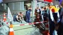 GENEL SEKRETER - İstanbul Büyükşehir Belediyesinden 'Gece Temizlik Çalışması'