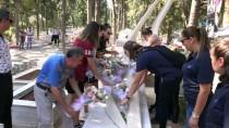 ÖZGECAN ASLAN - Kadın Basketbolculardan Özgecan'ın Mezarına Ziyaret