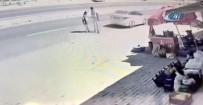 ÇAYBOYU - Korkunç Kaza Güvenlik Kamerasında