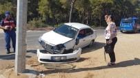OYMAPıNAR - Manavgat'ta Trafik Kazaları Açıklaması 2 Yaralı