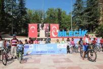 ATATÜRK BULVARI - Sağlıklı Bir Yaşam İçin 100 Kişilik Grup Pedal Çevirdi