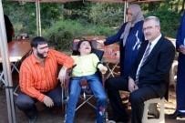 RECEP İVEDIK - Şahan Gökbakar Filim Setinde Engelli Hayranlarıyla Buluştu