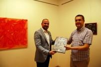 AKDENIZ ÜNIVERSITESI - Sanko Sanat Galerisi'nde Dokusal Soyutlamar II Sergisi Açıldı
