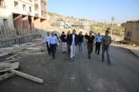 KARAYOLLARI - Şırnak Belediyesi Yeni Hizmet Binası Hızla Yükseliyor