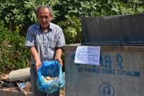 Sokak Hayvanları İçin 10 Yıldır Çöpten Ekmek Topluyor