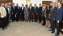 TANZANYA - Tanzanya Büyükelçisi Prof. Dr. Kiondu, ADÜ'yü Ziyaret Etti