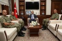 KOMANDO - Tuğgeneral Ercan Pürsünlü Vali Ali Hamza Pehlivan'ı Ziyaret Etti