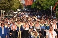 ÖMER HALİSDEMİR - Yuntdağı Yağlı Güreş Festivali İçin Kortej Yürüyüşü