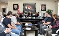 MAMAK BELEDIYESI - Akgül'e Teşekkür Ziyareti