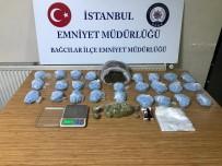 İSTANBUL EMNİYET MÜDÜRLÜĞÜ - Bağcılar'da Büfeye Uyuşturucu Operasyonu