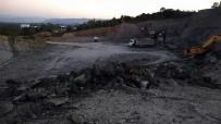 KAMYON ŞOFÖRÜ - Bir Gün Önce Milletvekilinin İncelediği Hastane İnşaatındaki Kazada Bir Kişi Öldü