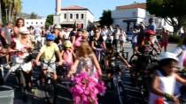 BİSİKLET TURU - Bodrum'da 'Süslü Kadınlar Bisiklet Turu'