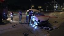 ULUBATLı HASAN - Bursa'da trafik kazası: 3 yaralı