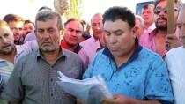 ADEM YıLMAZ - Çankırı'da Köylülerden Eylem